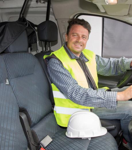 Ook fikse boete voor rijden in te vol werkbusje