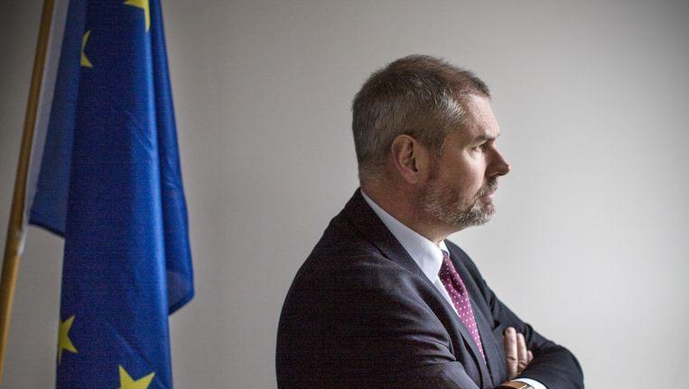 Andy Klom, hoofd van de officiële vertegenwoordiging van de Europese Commissie in Den Haag. Beeld null