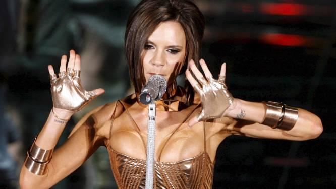 Victoria Beckham zong niet echt met Spice Girls
