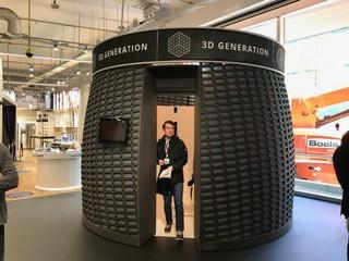 Een 3D-kamer met tientallen camera's. Van de beelden kan een nauwkeurig 3D-beeldje gemaakt worden