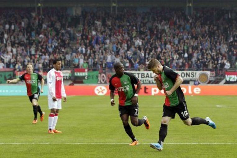 Lasse Schone (R) scoorde de 1-0. ANP Beeld