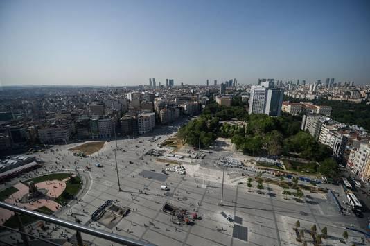 Het Gezipark van bovenaf gezien.