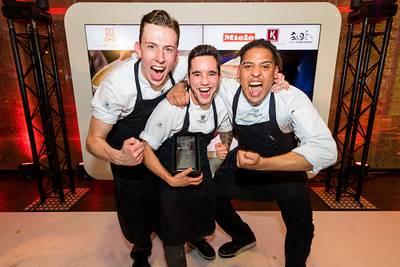 Eerste prijs voor studenten Cingel College bij internationale kookwedstrijd
