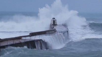 Groot-Brittannië zet zich schrap voor storm Diana