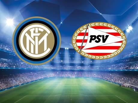 LIVE   PSV tegen Inter weer met Sainsbury en Gutiérrez