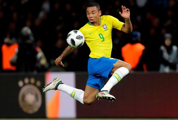 De Braziliaanse City-aanvaller Gabriel Jesus.