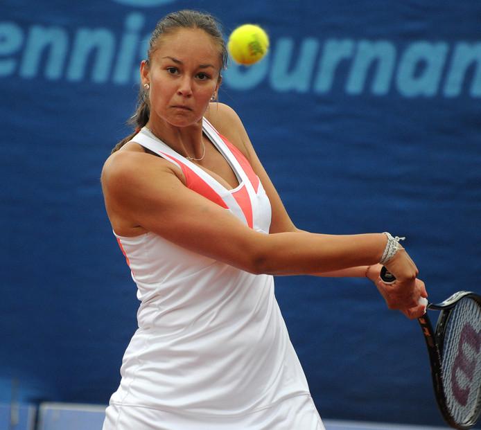 Lesley Kerkhove slaagde er niet om het hoofdtoernooi van de Australian Open te bereiken.