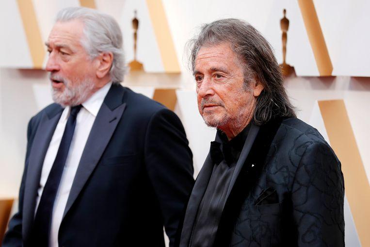 Robert De Niro en Al Pacino keren met lege handen terug van de Oscars.