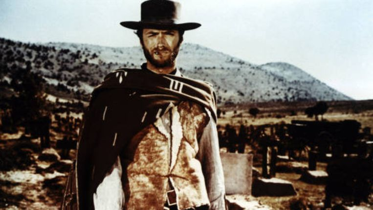 Clint Eastwood in The Good, the Bad and the Ugly. Beeld