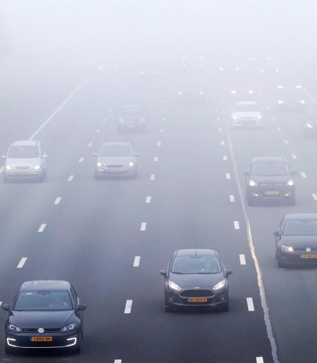 KNMI waarschuwt voor dichte mist in westen