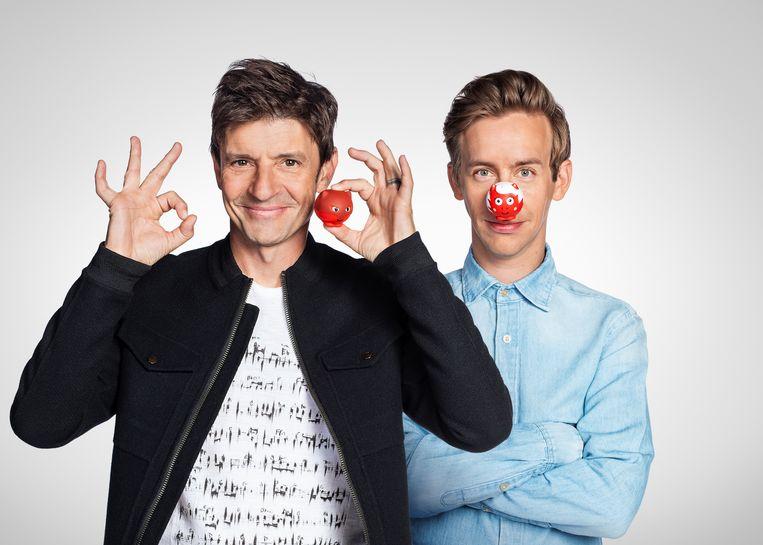Koen Wauters en Jonas Van Geel presenteren Rode Neuzen Dag XL