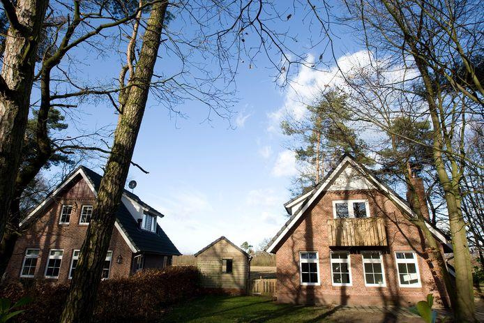 Vakantiewoningen op het Rommelgebergte nabij Winterswijk. Het gaat hier niet om de betreffende woning waartegen opgetreden is.