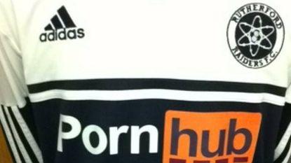 Pornhub mag universiteitsploeg niet sponsoren