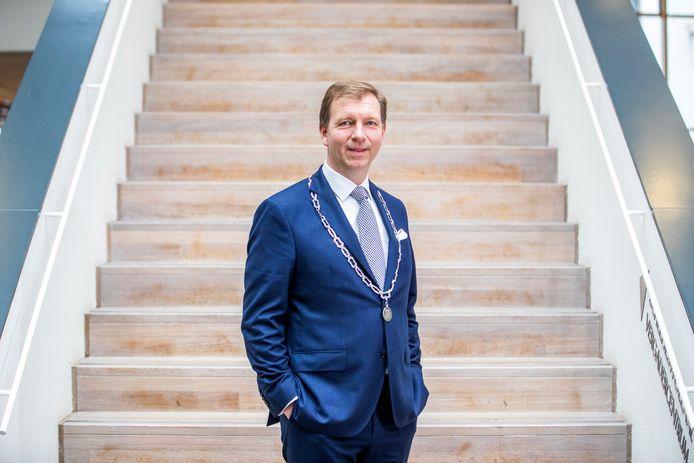 Burgemeester Gert-Jan Kats.