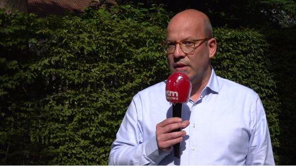 Tom Rombouts, advocaat van Waasland-Beveren.