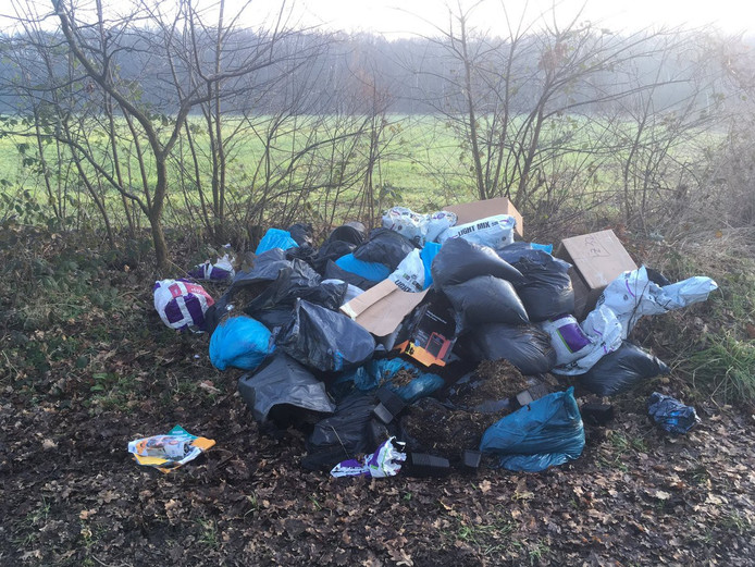 Dumping in Woensdrecht.