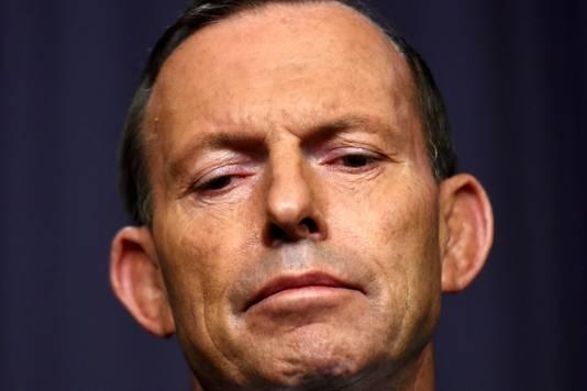 Tegenstander Tony Abbott