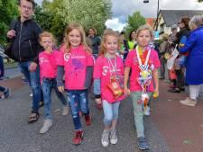 Liefst 2600 Apeldoornse  kinderen lopen Avondvierdaagse uit