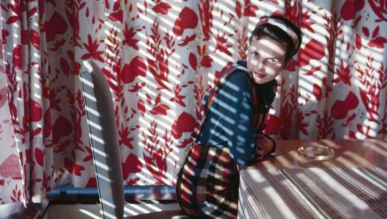 Florette, Vence, mai 1954 Beeld J. H. Lartigue, Ministère de la Culture - France /AAJHL