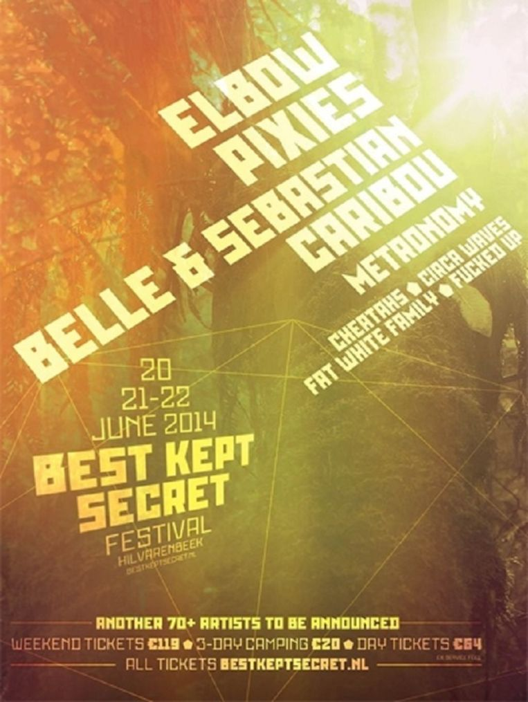 null Beeld Poster Best Kept Secret