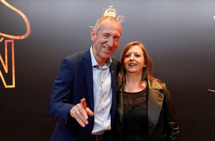 Franky Van der Elst et sa compagne