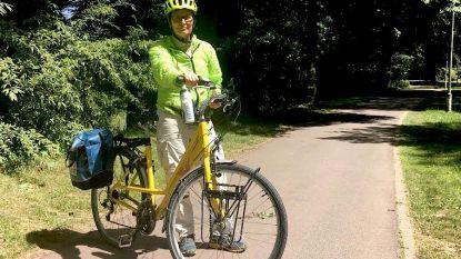 Eva (60) fietst van Antwerpen naar Noordkaap