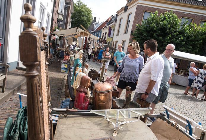 Gezellige drukte in Doesburg.