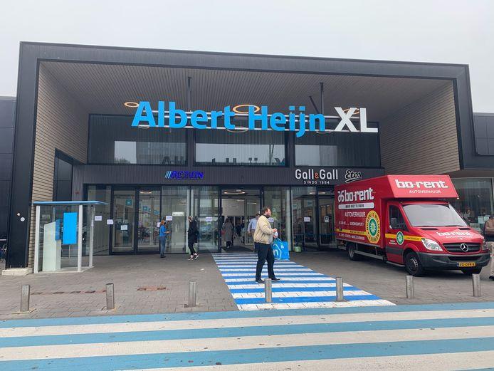 Pinstoring bij Albert Heijn XL in Tilburg.