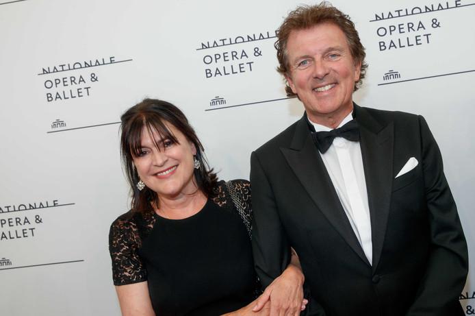Robert ten Brink met zijn vrouw Roos