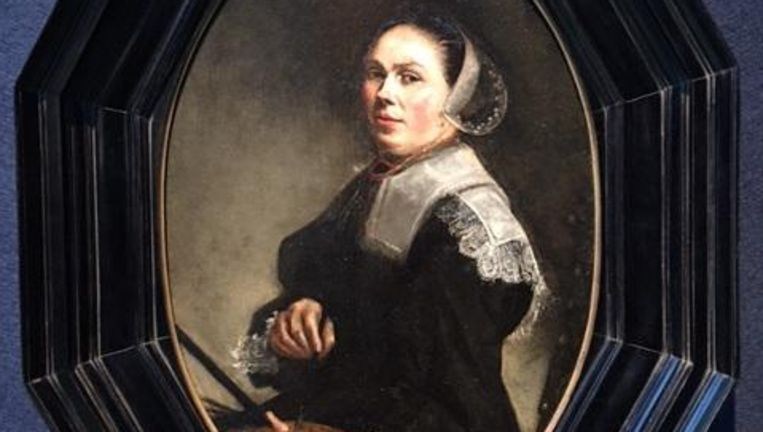 Het zelfportret van Judith Leyster Beeld Christie's