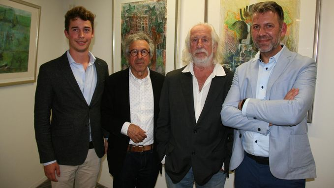 Trialoog zet plaatselijke kunstenaars in de kijker