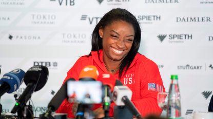 """Gymnastiekkoningin Simone Biles klaar voor unieke WK-historie: """"Maar ik zie mezelf niet graag als een superster"""""""
