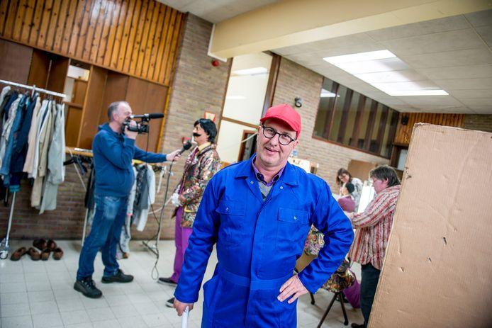 Jan Verheyen op de set van 'Viva Boma!'