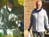 Mourinho helpt ouderen aan voedselpakketten