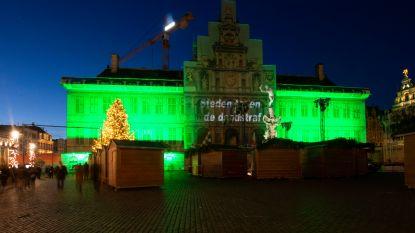 Stadhuis kleurt groen tegen doodstraf