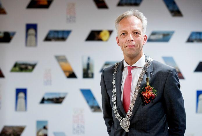 Burgemeester Sjors Fröhlich.