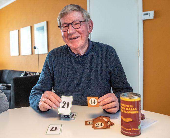 In de familie van Jan Veldhuijzen wordt al decennialang het spel Dompey gespeeld.