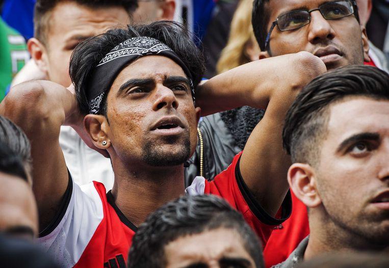 'Niets is sterker dan dat ene woord: Feyenoord'  Beeld ANP