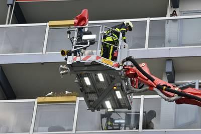 Brand in flat aan Roeselarestraat in Breda snel meester