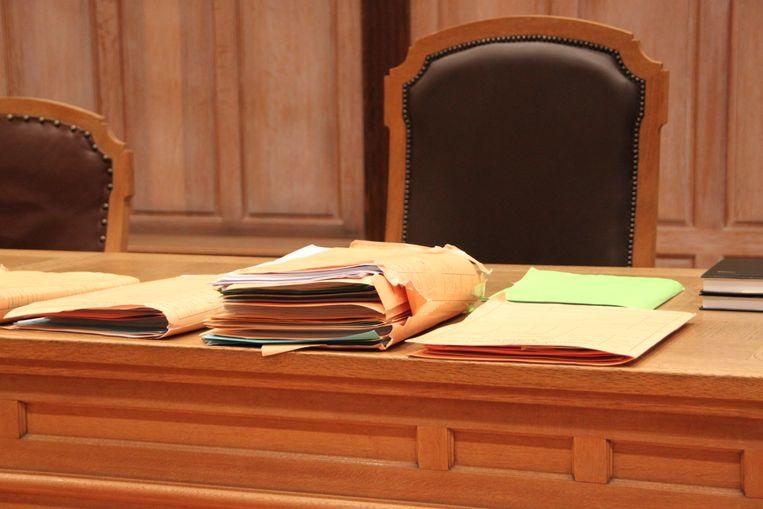 De rechtbank van Kortrijk.