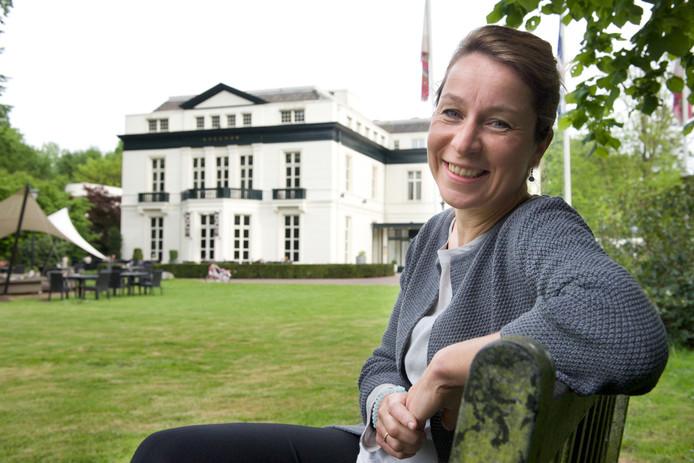 Nicole Olland op landgoed Avegoor in Ellecom.