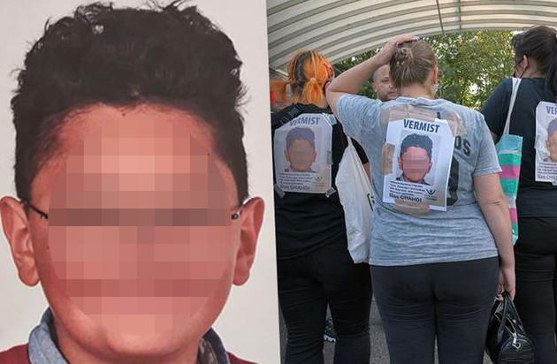 De vermiste jongen Ilias (12) is in goede gezondheid teruggevonden.
