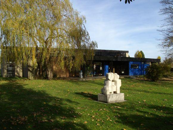 De bibliotheek van Gistel.