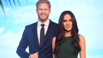 Harry en Meghan gaan scheiden (bij Madame Tussaud's dan toch)
