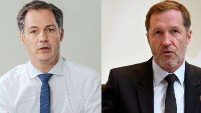 LIVE. Koning stelt Alexander De Croo (Open Vld) en Paul Magnette (PS) aan als coformateurs