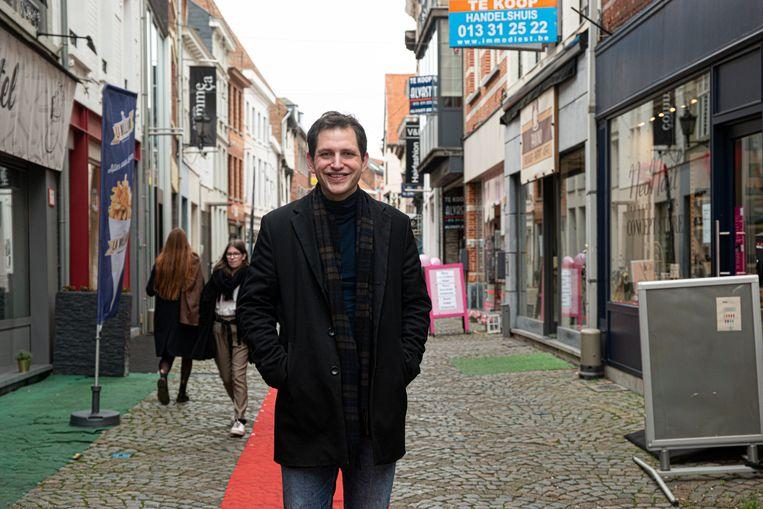 """Schepen Maurits Vande Reyde  kon de armoedecijfers van 2019 inkijken: """"Oost-Brabant heeft een van de laagste cijfers maar  we moeten ons blijven inspannen om jobs  en opleidingen te creëren""""."""