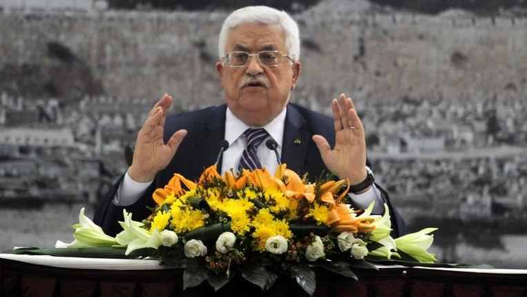 De Palestijnse president Mahmoud Abbas. Beeld getty
