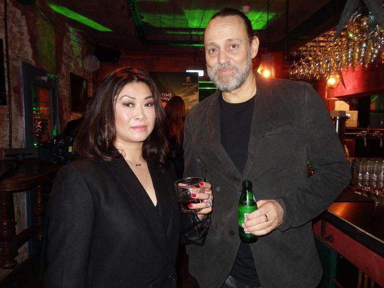 Art director Choque Ling Lau en schrijver Hugo Borst: 'Niets komt er in Esquire doorheen zonder haar toestemming' Beeld Schuim