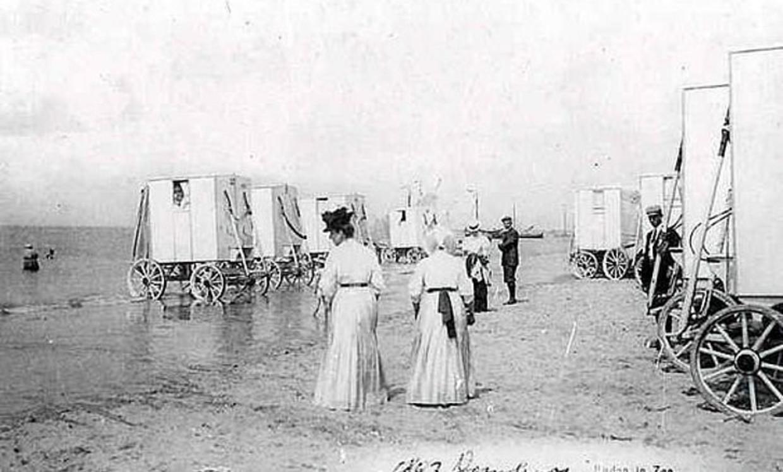 Domburg in 1910.