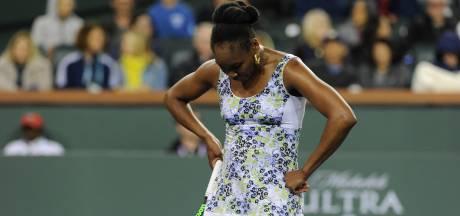Venus Williams en als eerste geplaatste Halep niet naar finale Indian Wells
